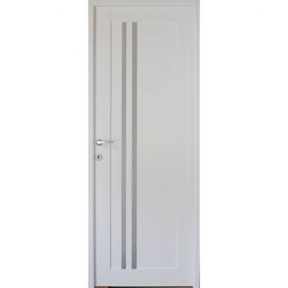 Denis fehér beltéri ajtó panelba